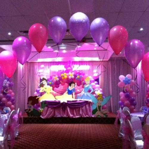 princess party table decoration ideas images