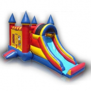 inflatable castle and slides for rent