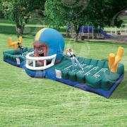 inflatable challenge, interactive games, interactive bouncy games, football challenge, toronto party rentals, toronto bouncy castle rental