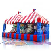 Midway Carnival Game, inflatable carnival game, mid way infltable game, inflatable carnival game rental, bouncy carnival game rentals, mid way inflatable bouncy castle rental, mid way game, festival games