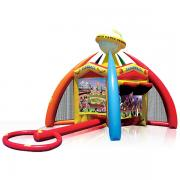 Inflatable Bouncer, sport bouncy castle, kids fun, rentable inflatable