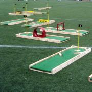 mini golf, mini putt, mini golf rental, party rental mini golf