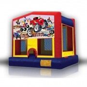 moster truck bouncer