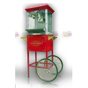 popcorn machine with cart for rent