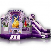 inflatable princess castle