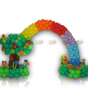 rainbow decoration