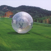 inflatable rolling ball